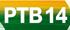 Logo do partido PTB