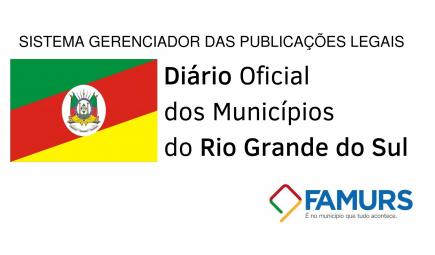 Banner: Diário Oficial