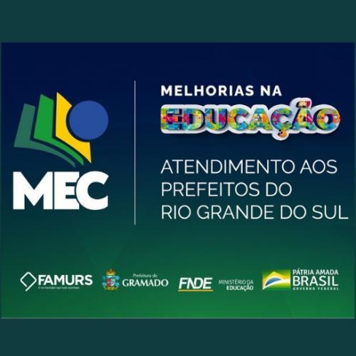 Imagem ilustrativa do(a) Palestra: MELHORIAS NA EDUCAÇÃO - ATENDIMENTO AOS PREFEITOS DO RIO GRANDE DO SUL