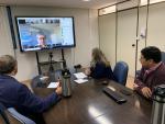 Imagem ilustrativa da notícia: Famurs e Consef/RS participam de videoconferência para debater os impactos financeiros da Covid-19