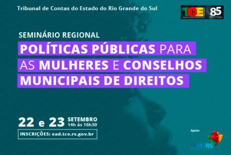 Imagem ilustrativa da notícia: Famurs convida para Seminário de Políticas Públicas para as Mulheres e Conselhos Municipais de Direitos