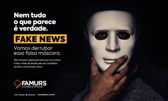 Imagem ilustrativa da notícia: Famurs lança campanha contra Fake News durante o período eleitoral