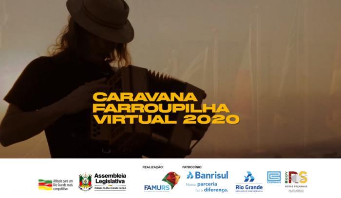 Imagem ilustrativa da notícia: Caravana Farroupilha Virtual 2020 tem mais de 1 milhão de visualizações
