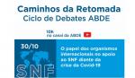 """Imagem ilustrativa da notícia: ABDE promove mais uma edição do painel """"Caminhos da Retomada"""" na próxima sexta, 30"""