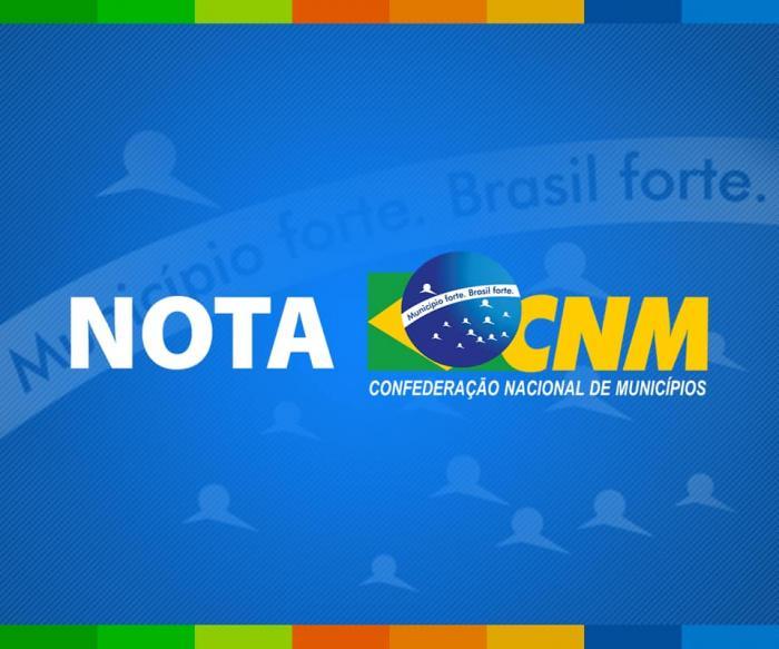 Imagem ilustrativa da notícia: Nota: CNM é contra desvinculação mínima para saúde e educação
