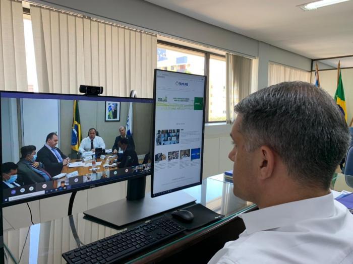 Imagem ilustrativa da notícia: Famurs e CNM cobram ampliação de vacinas em reunião com o ministro da Saúde