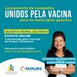 Imagem ilustrativa da notícia: Famurs e Luiza Helena Trajano convidam os municípios gaúchos para o lançamento do Movimento Unidos pela Vacina