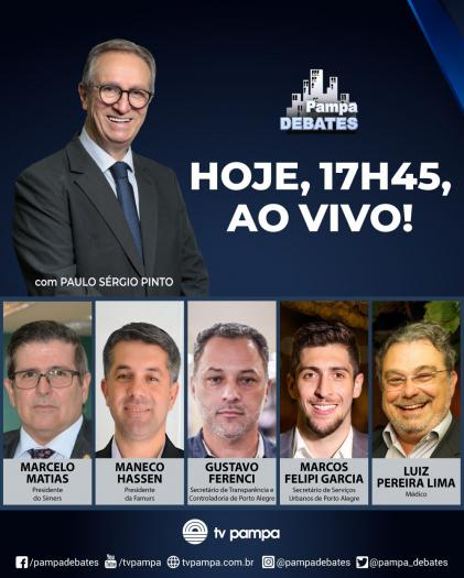 Imagem ilustrativa da notícia: Presidente da Famurs participa do programa Pampa Debates