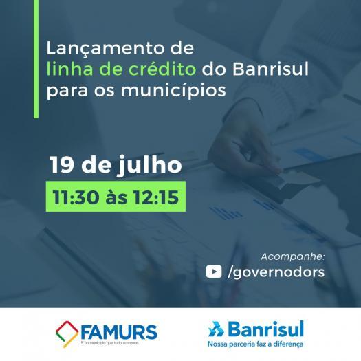 Imagem ilustrativa da notícia: Banrisul lança linha crédito especial para os municípios na próxima segunda-feira