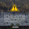 Imagem ilustrativa da notícia: Famurs alerta para onda de frio intenso no RS e pede atenção dos municípios para moradores em situação de vulnerabilidade social