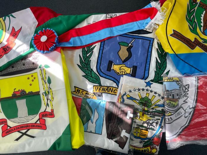 Bandeiras serão hasteadas em Guaíba no mês de setembro.
