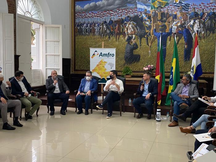 Imagem ilustrativa da notícia: Famurs participa de inauguração do 6º Batalhão de Polícia de Choque e de Assembleia da Amfro