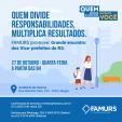 Imagem ilustrativa da notícia: Famurs promove encontro dos vice-prefeitos do RS